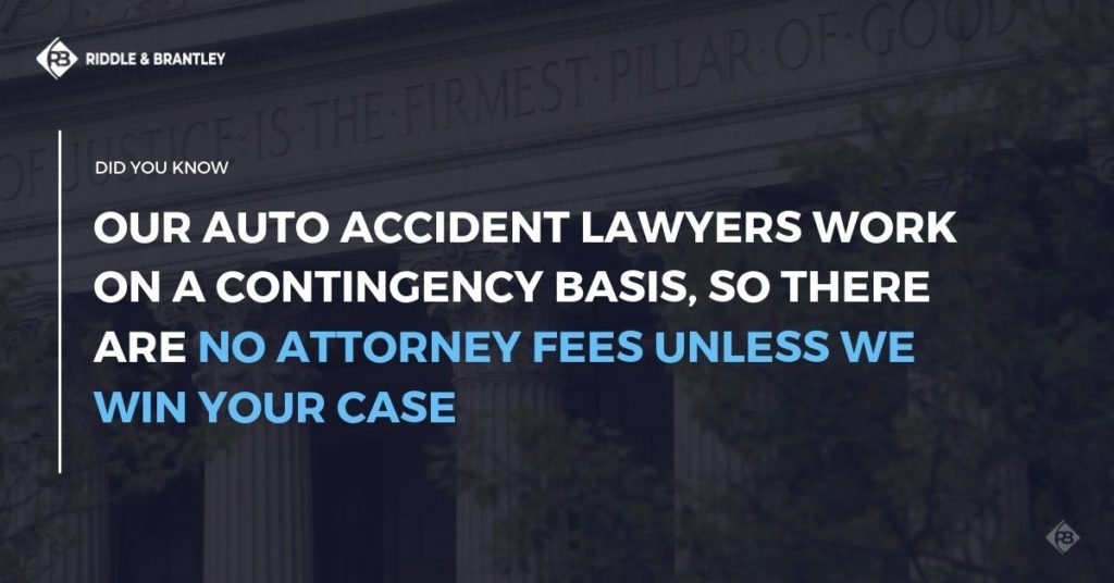 Car Accident Lawyer with Experience in Winston-Salem - No Fee Unless We Win - Riddle & Brantley