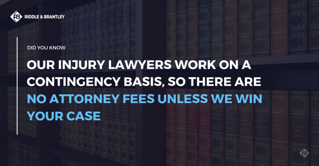 Car Accident Lawyer with Experience in Wake Forest - No Fee Unless We Win - Riddle & Brantley