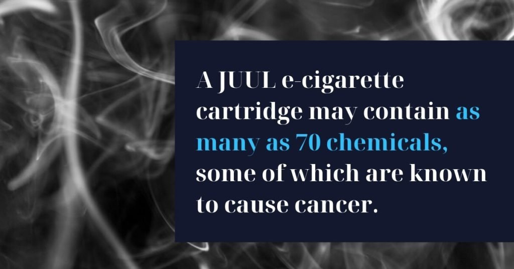 Does JUUL cause cancer_ - Riddle & Brantley - JUUL Lawsuit Lawyer