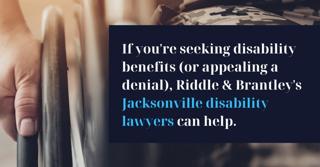 Jacksonville North Carolina Disability Lawyers - Riddle & Brantley