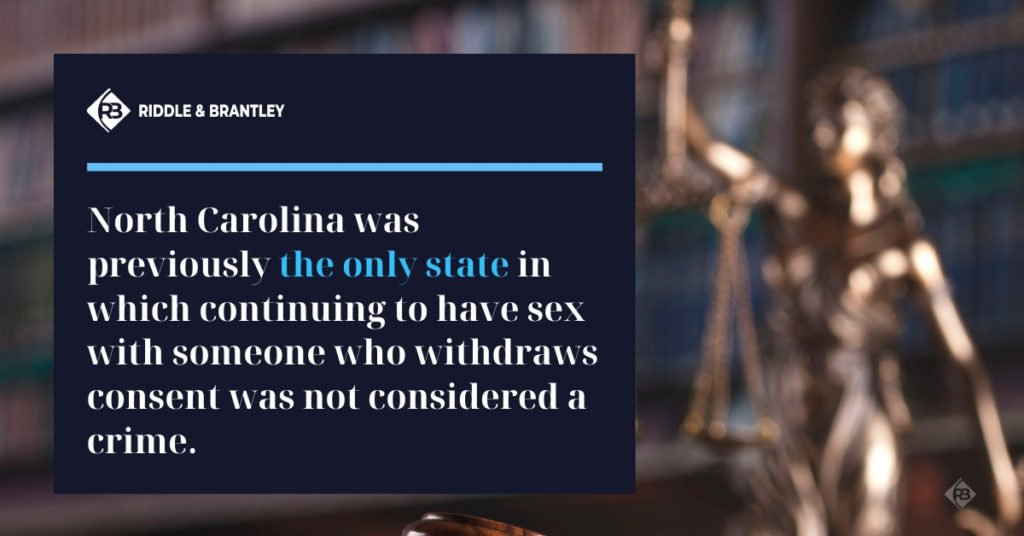 North Carolina Sexual Assault Laws