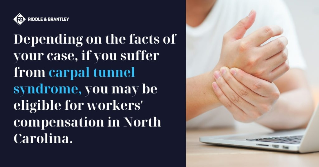 Does Workers Comp Cover Carpal Tunnel - Riddle & Brantley