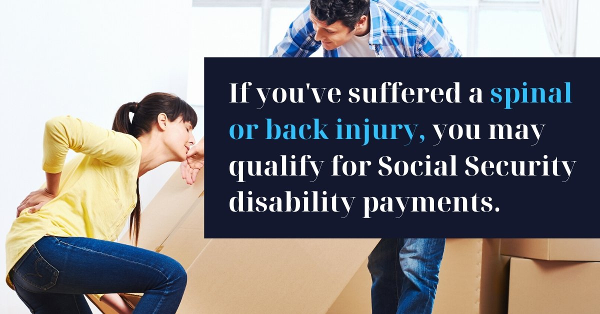 Disability for Back Injury - North Carolina Disability Law Firm