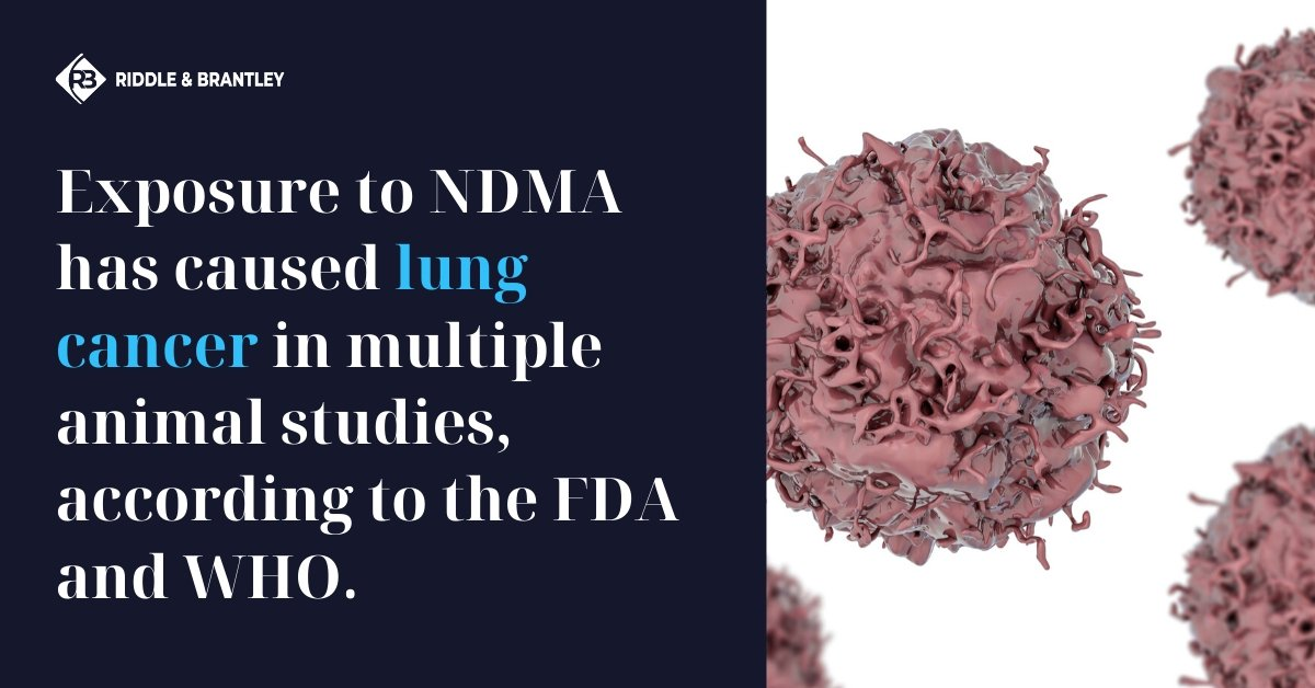 Does NDMA Cause Lung Cancer - Riddle & Brantley