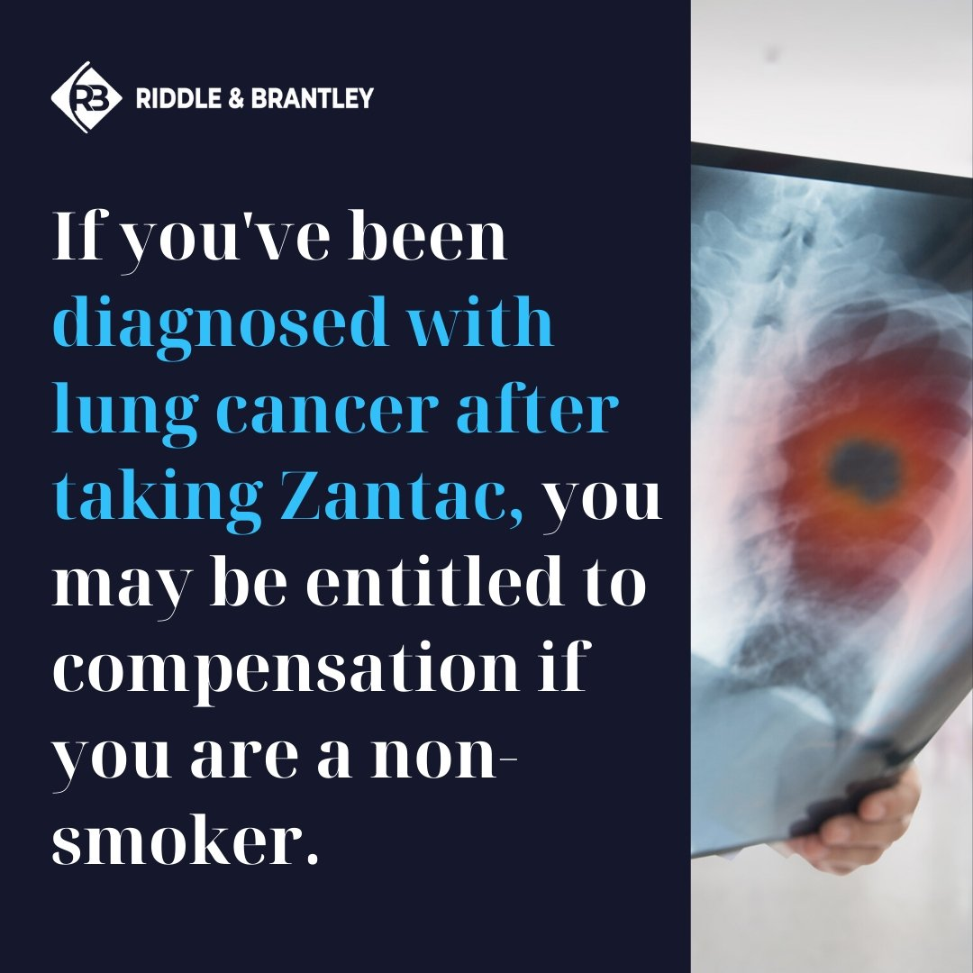 Does Zantac Cause Lung Cancer - Riddle & Brantley