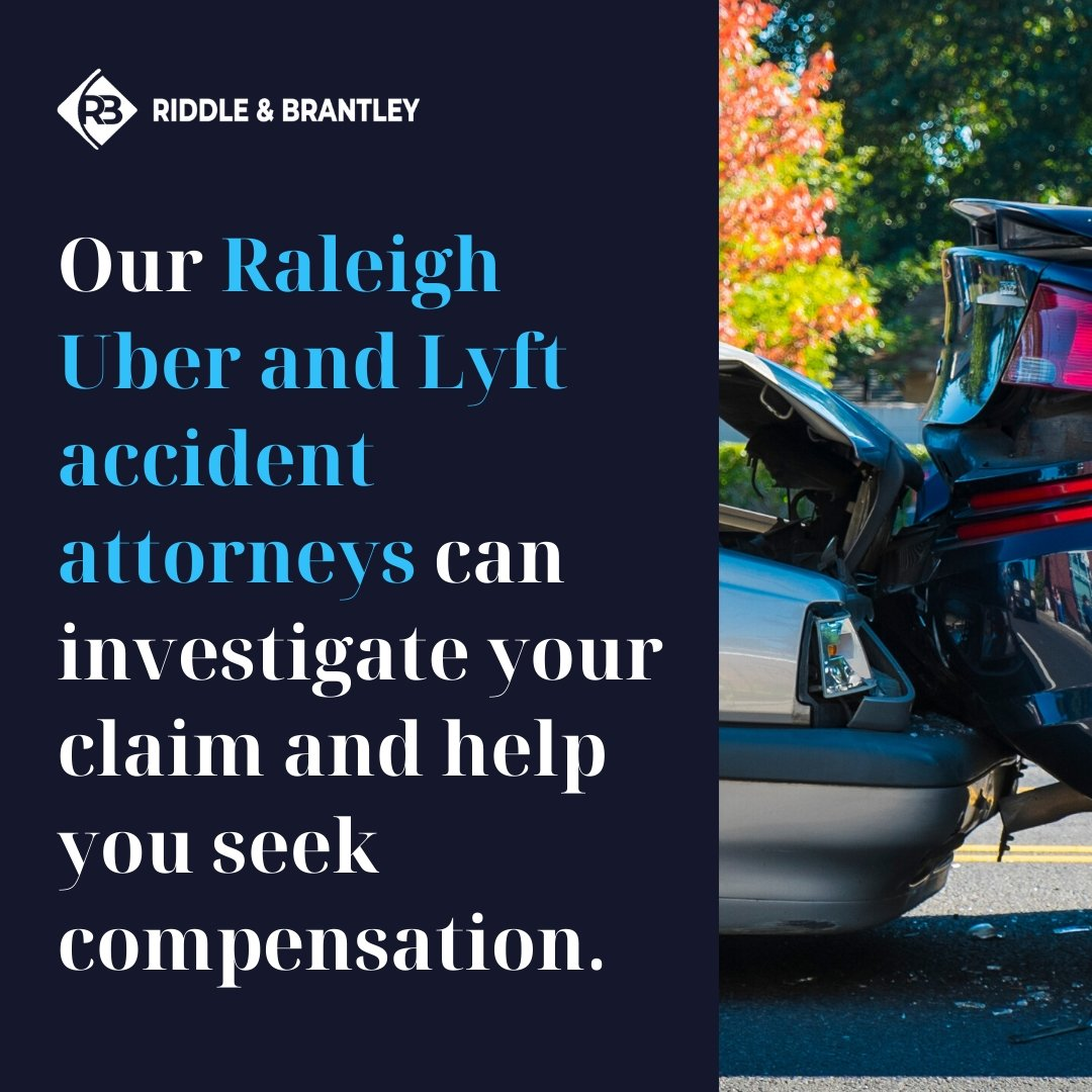 Raleigh Lyft and Uber Accident Lawyer - Riddle & Brantley