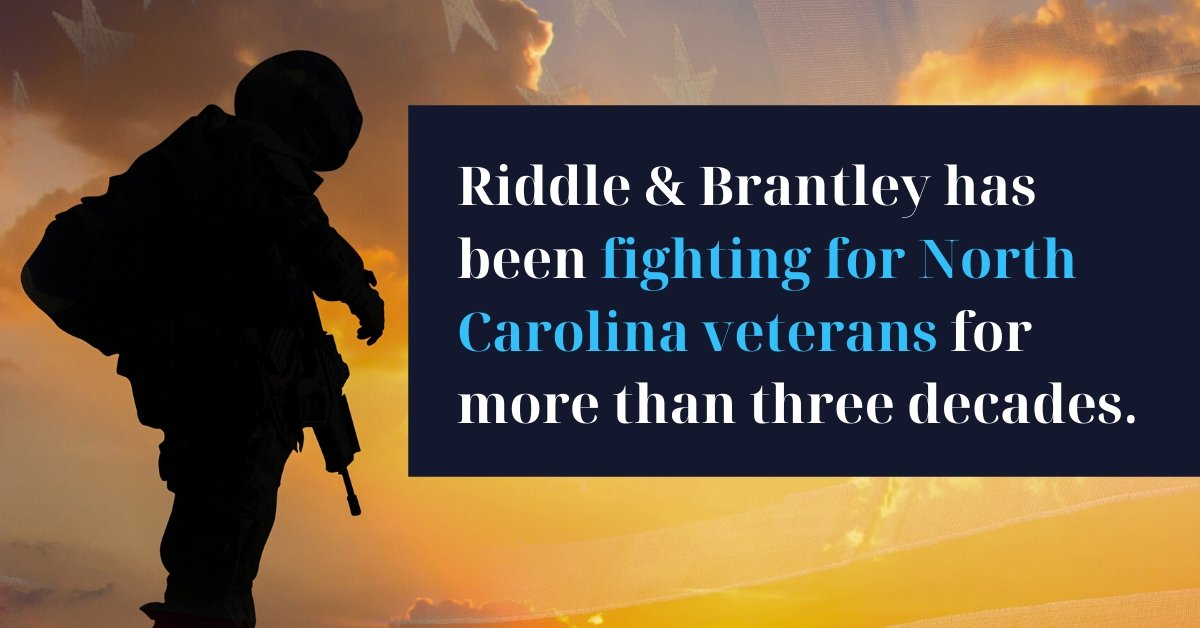 Veterans Benefits Lawyer Serving Asheboro NC - Riddle & Brantley