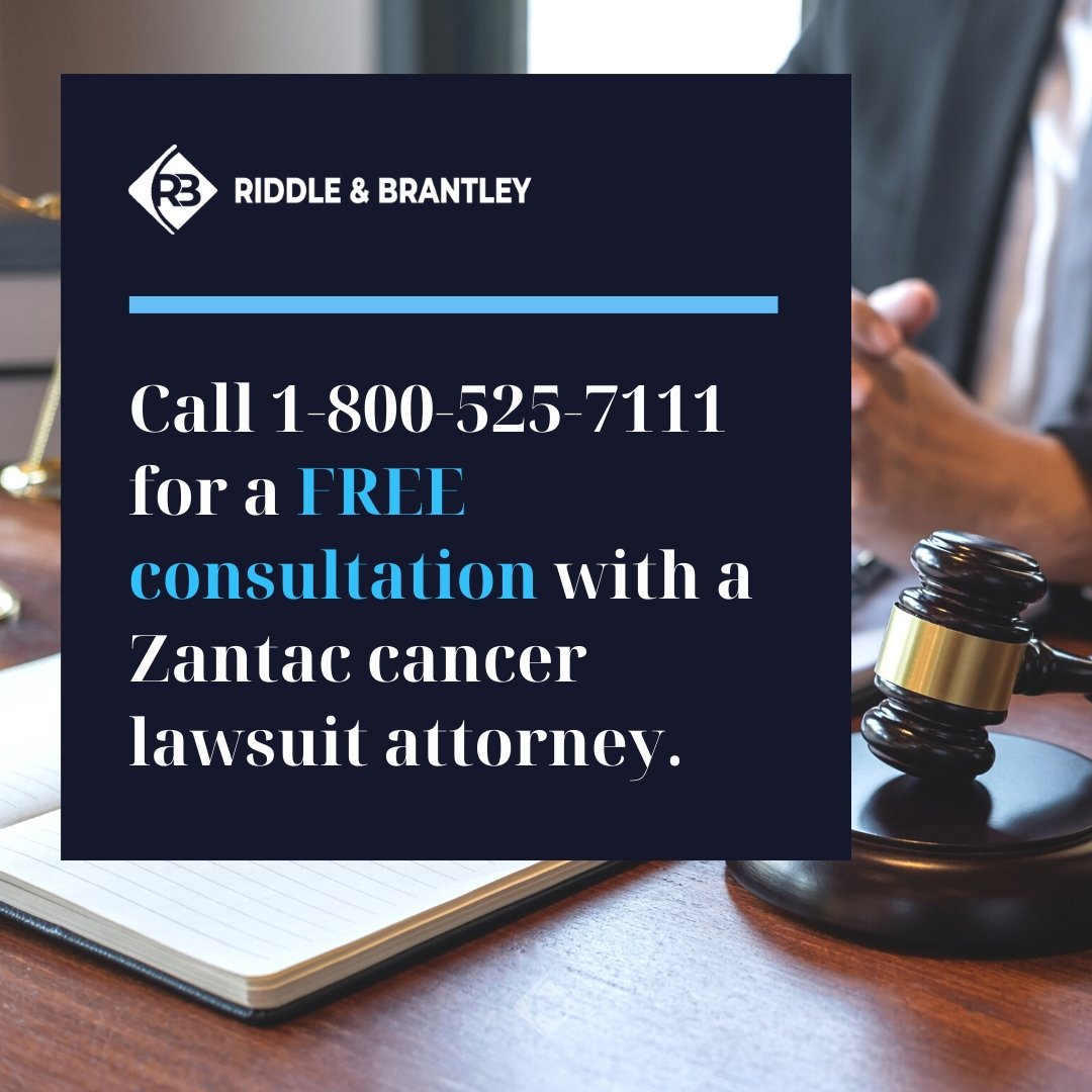 Zantac Lawsuit Lawyer - Riddle & Brantley in North Carolina
