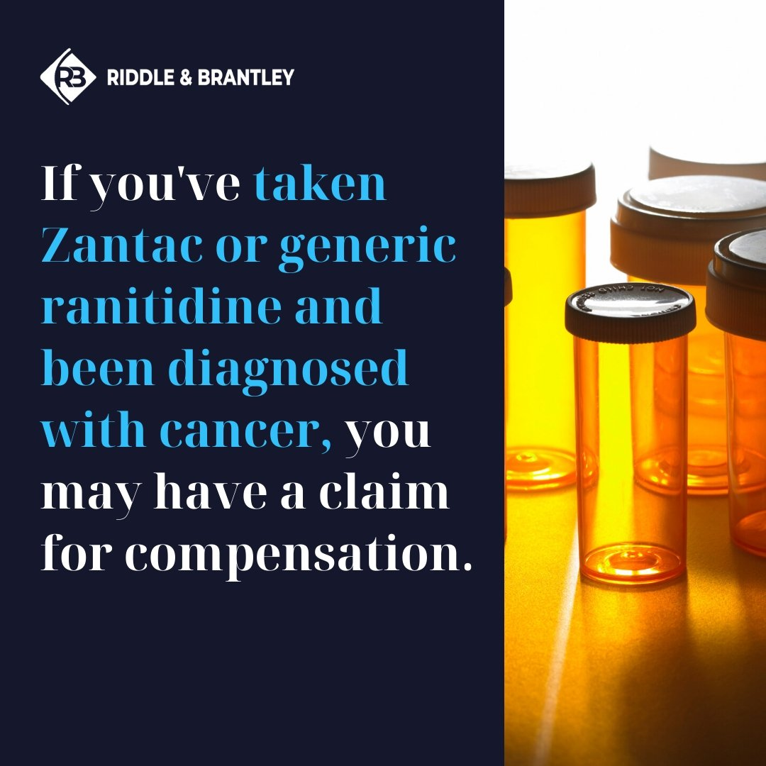 Zantac and Ranitidine Lawsuits - Riddle & Brantley