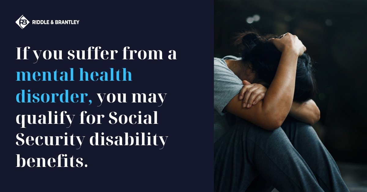 Disability for Mental Health - Social Security Disability Benefits