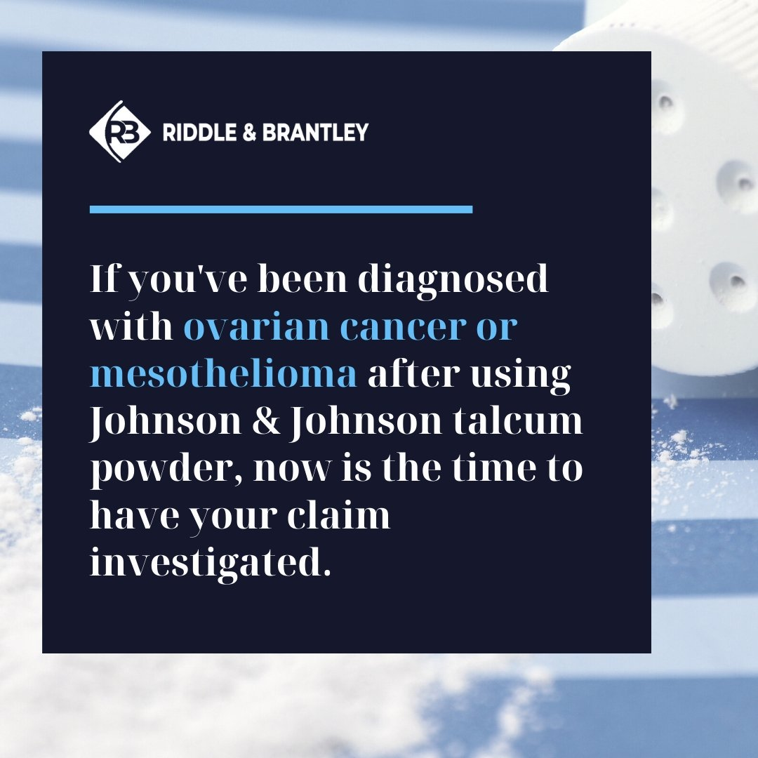 Cancer Claims in Baby Powder Lawsuits - Riddle & Brantley