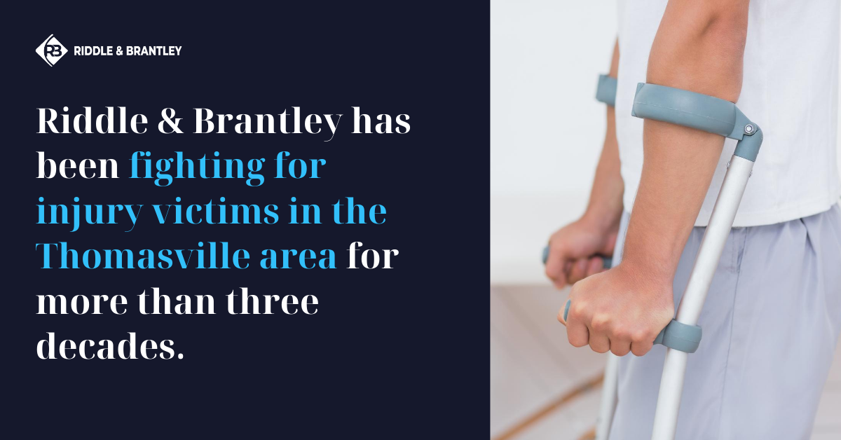 Personal Injury Lawyers Serving Thomasville NC - Riddle & Brantley