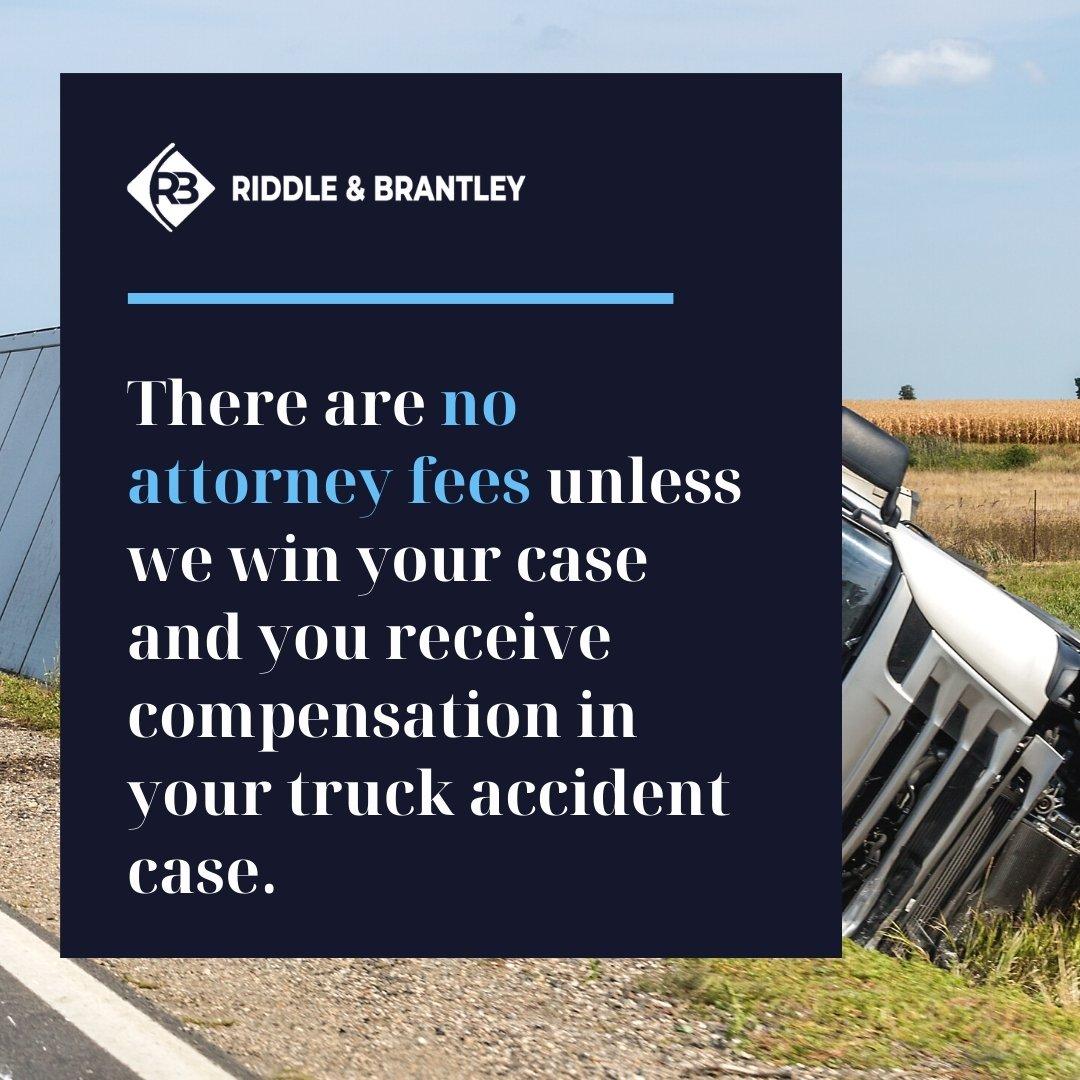 Truck Accident Injury Lawyer Serving Charlotte NC - Riddle & Brantley