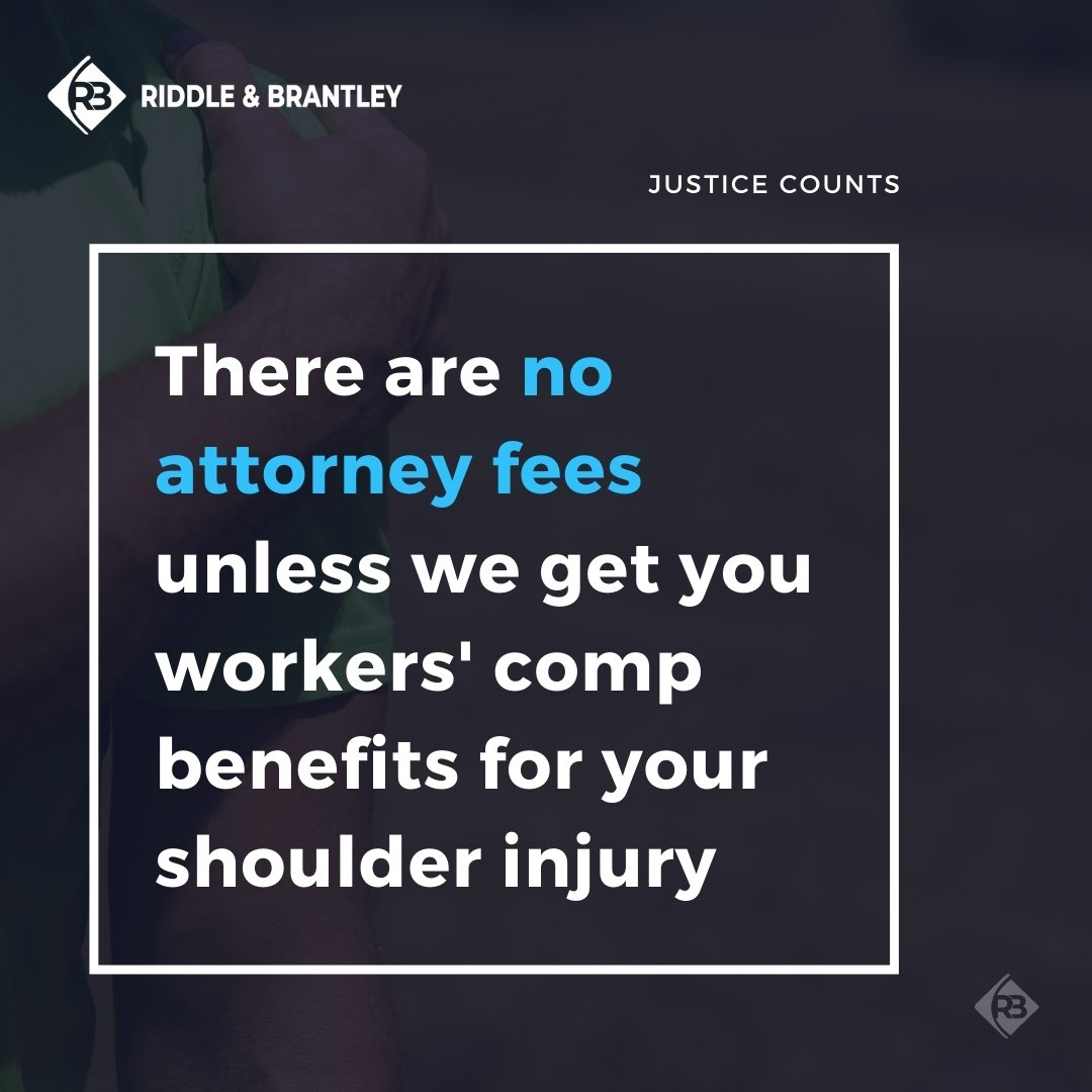 Affordable Workers' Comp Attorney for Shoulder Injuries - Riddle & Brantley