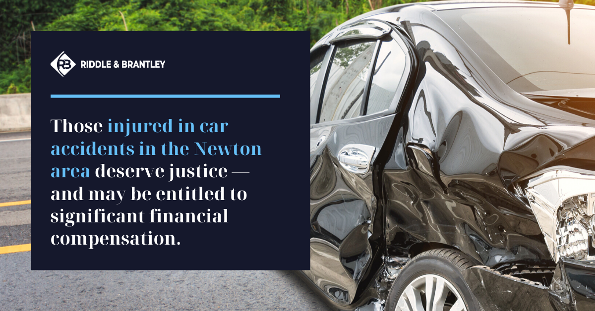 Car Accident Lawyer Serving Newton NC - Riddle & Brantley