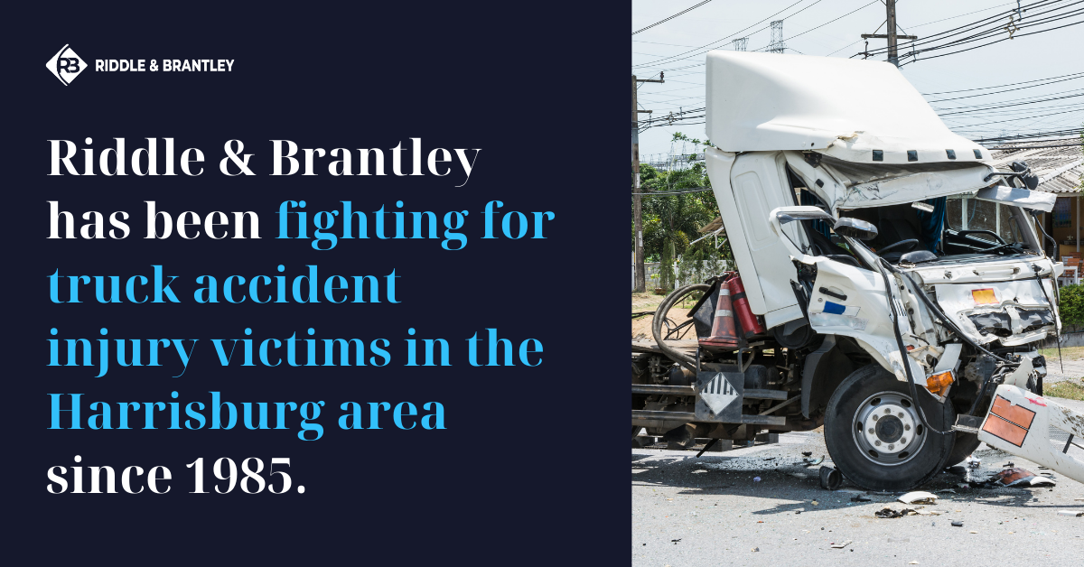 Truck Accident Lawyer Serving Harrisburg NC - Riddle & Brantley