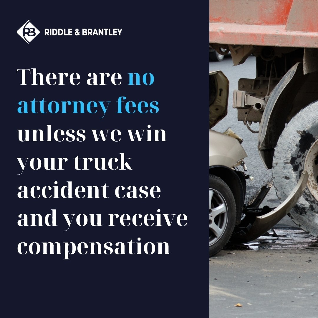 Affordable NC Truck Accident Lawyers - Riddle & Brantley