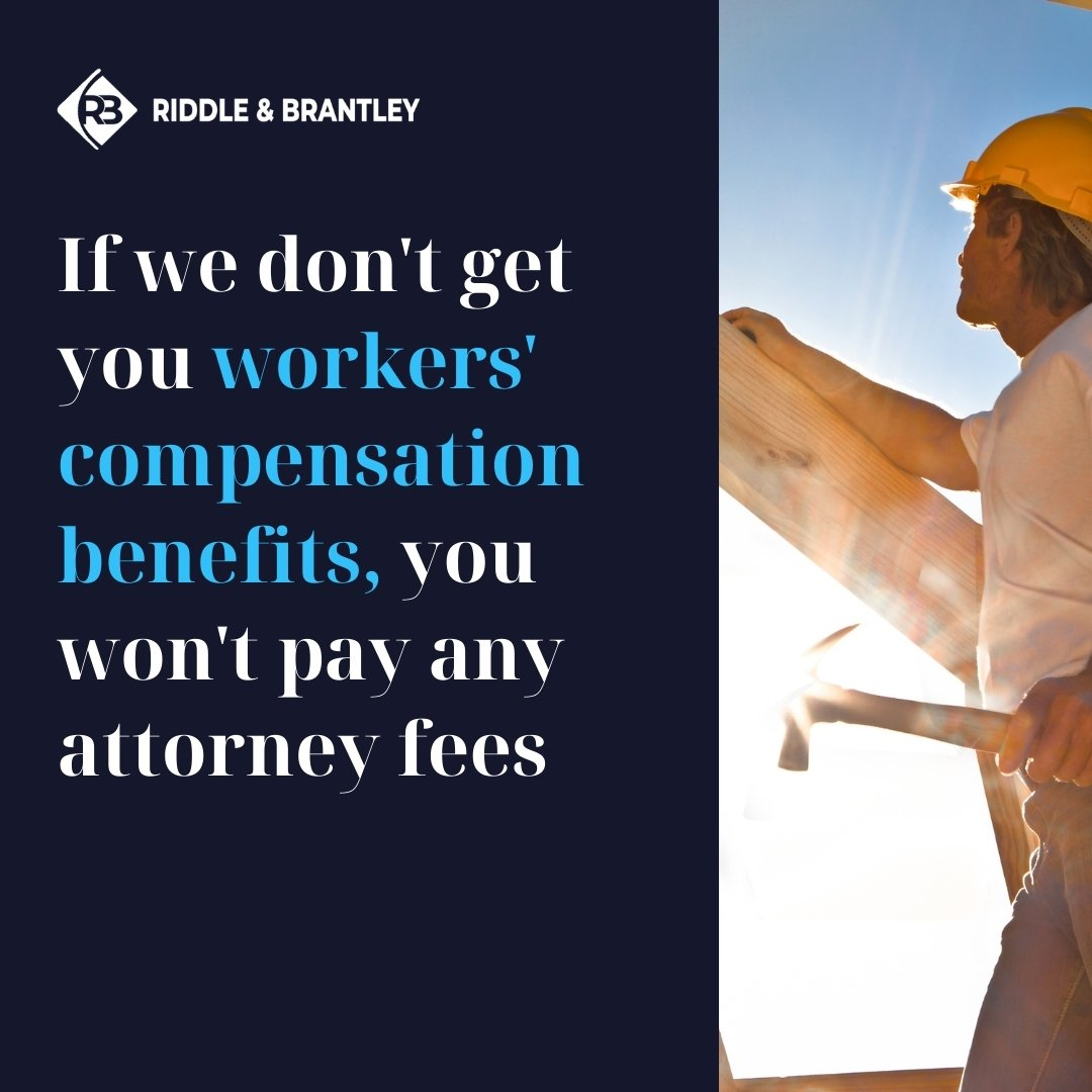 Affordable Workers Comp Lawyers Serving Roanoke Rapids North Carolina - Riddle & Brantley
