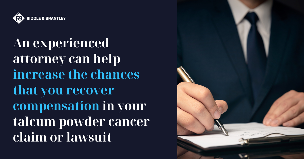 Do I Need an Attorney for My Talcum Powder Cancer Claim_ - Riddle & Brantley