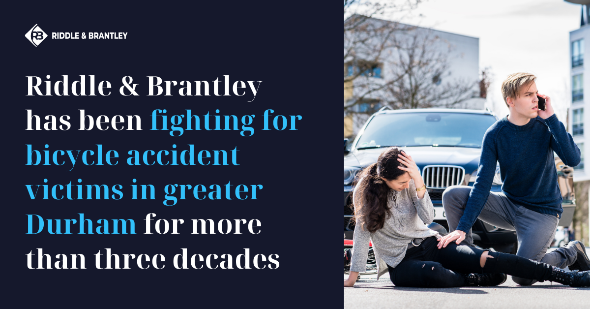 Durham Bicycle Accident Lawyer - Riddle & Brantley