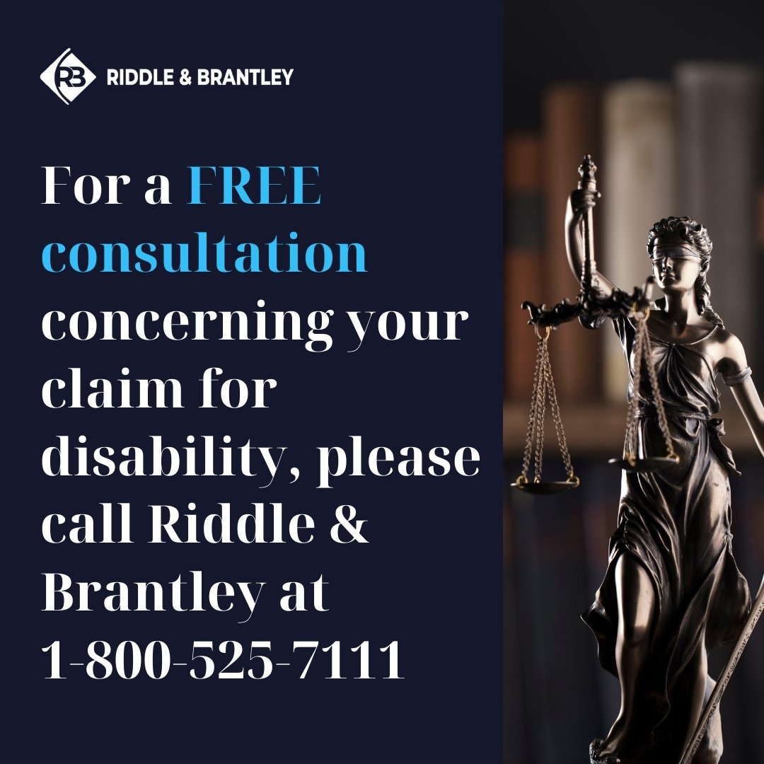 Free Consultation with Disability Attorney in North Carolina - Riddle & Brantley