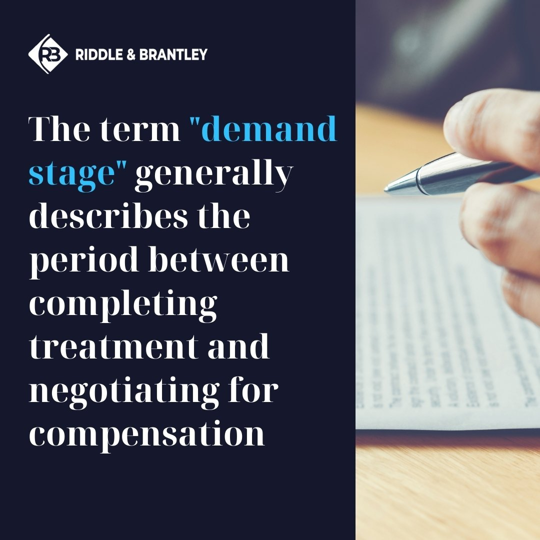 What is the Demand Stage in a Personal Injury Case_ - Riddle & Brantley (1)