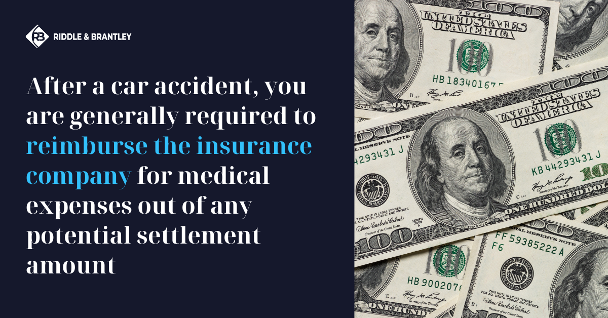Do I Have to Repay the Insurance Company After a Car Accident - Riddle & Brantley