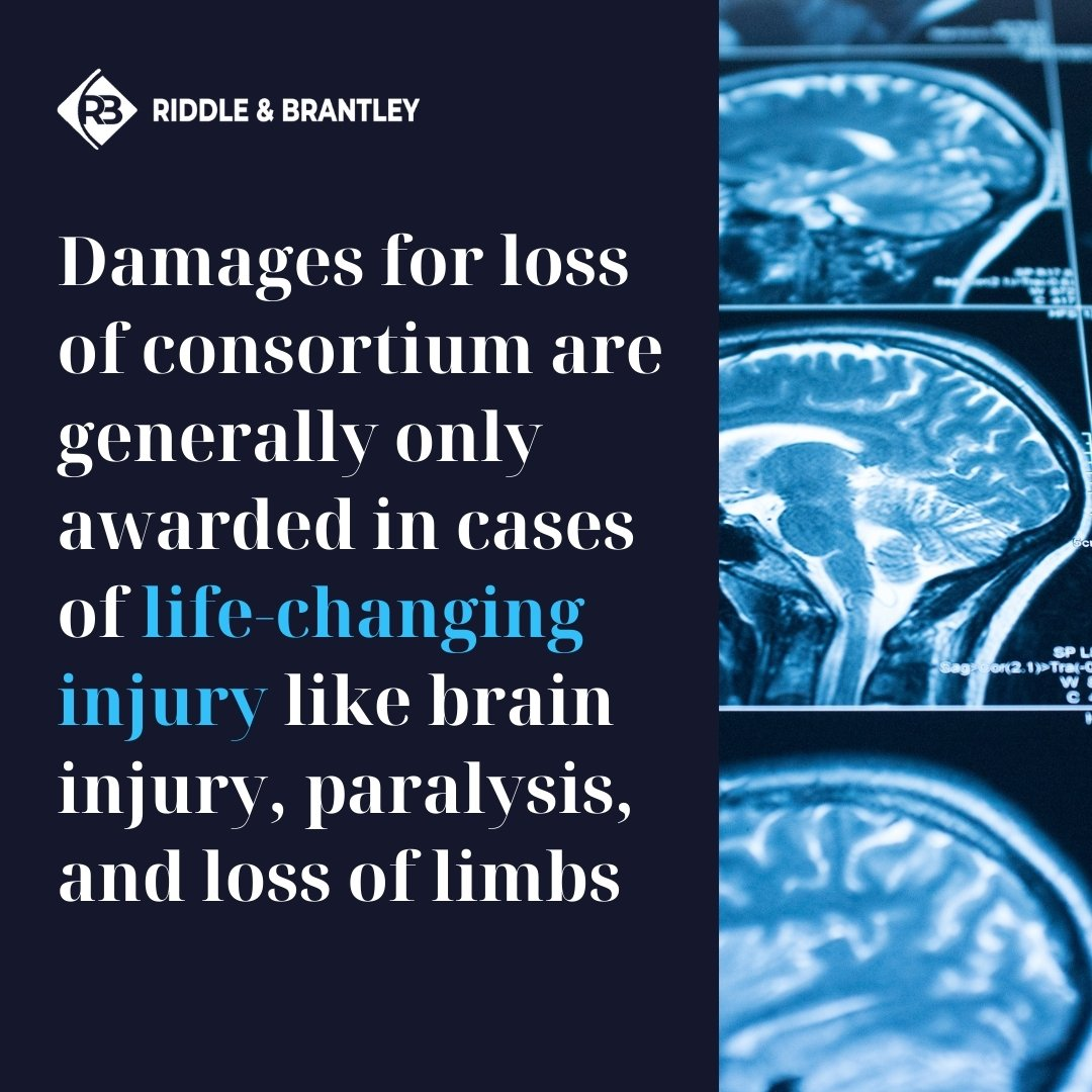 Loss of Consortium for Severe Injury - Riddle & Brantley