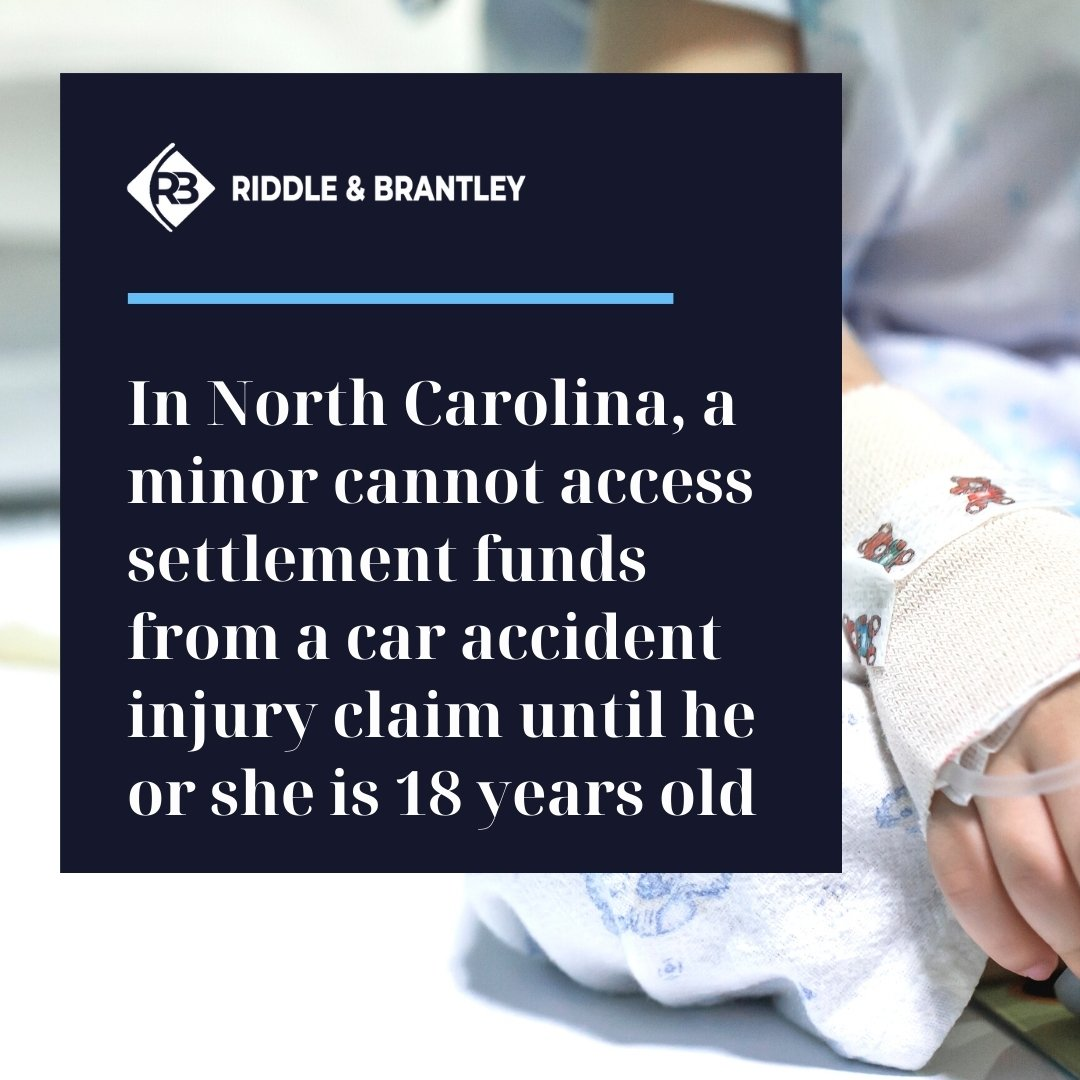 North Carolina Car Accident Settlements for Minors - Riddle & Brantley