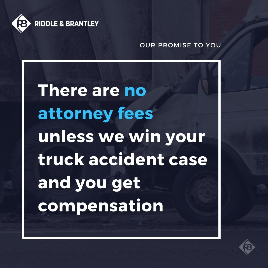 Affordable Truck Accident Attorneys in North Carolina - Riddle & Brantley