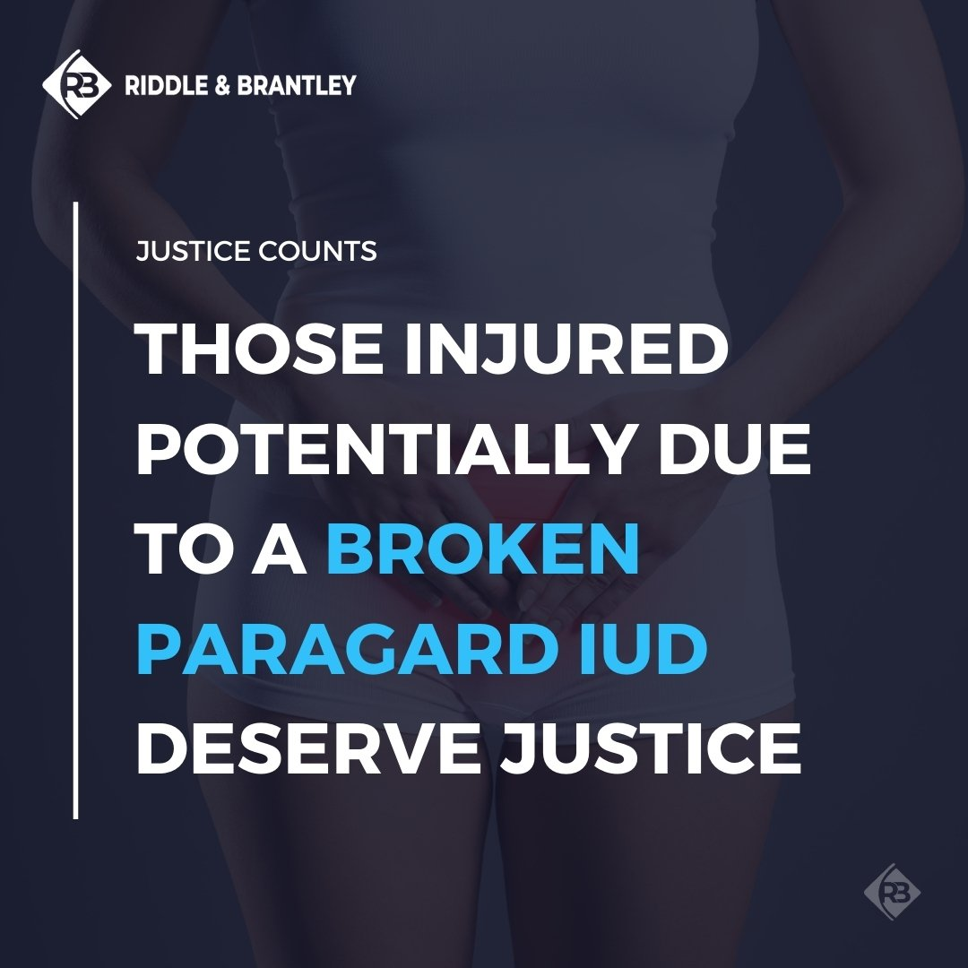 Paragard Lawsuits and Attorneys - Riddle & Brantley