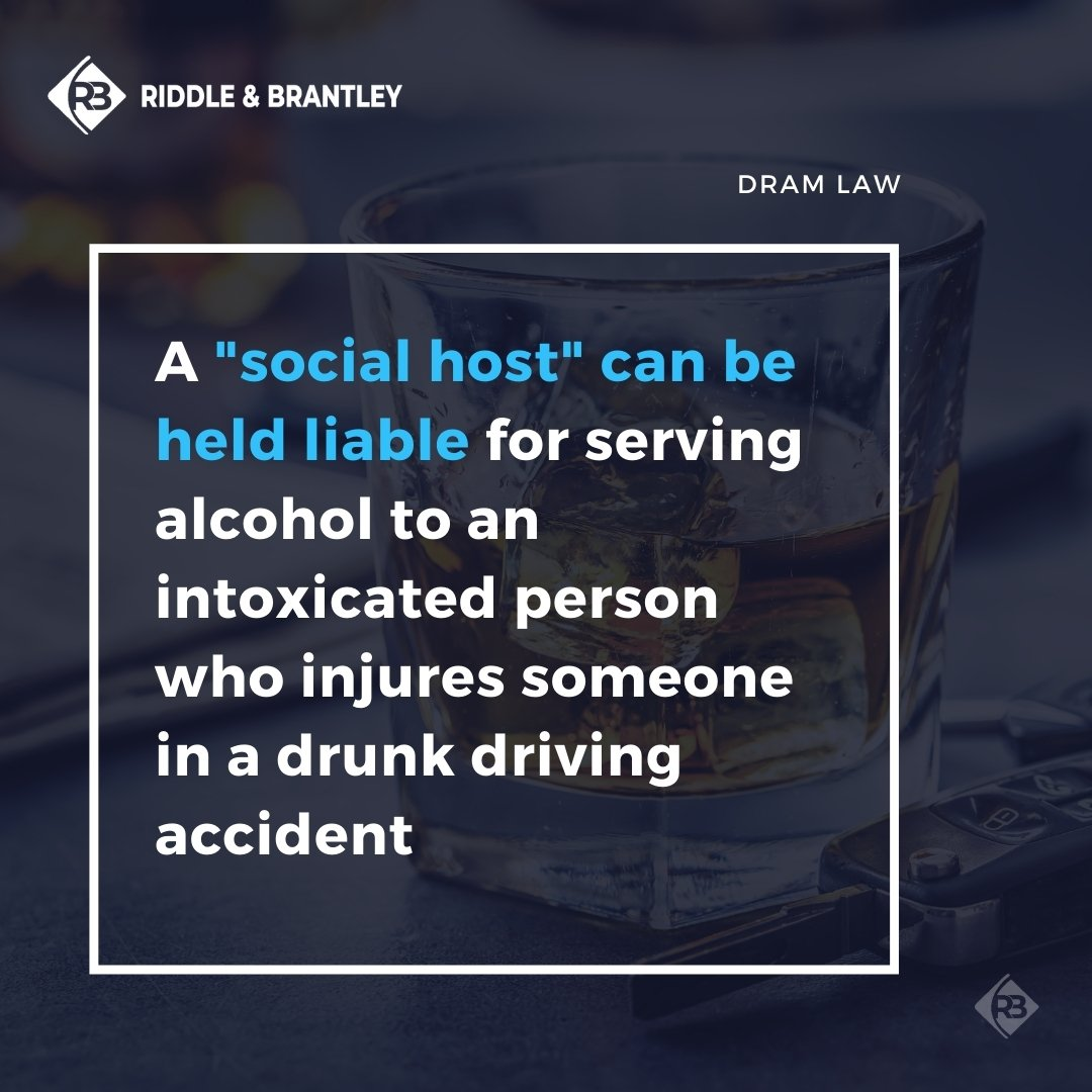 Vicarious Liability and Drunk Driving Accidents - Riddle & Brantley