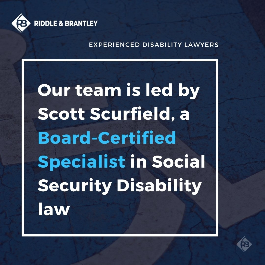 Disability Attorneys in North Carolina - Riddle & Brantley