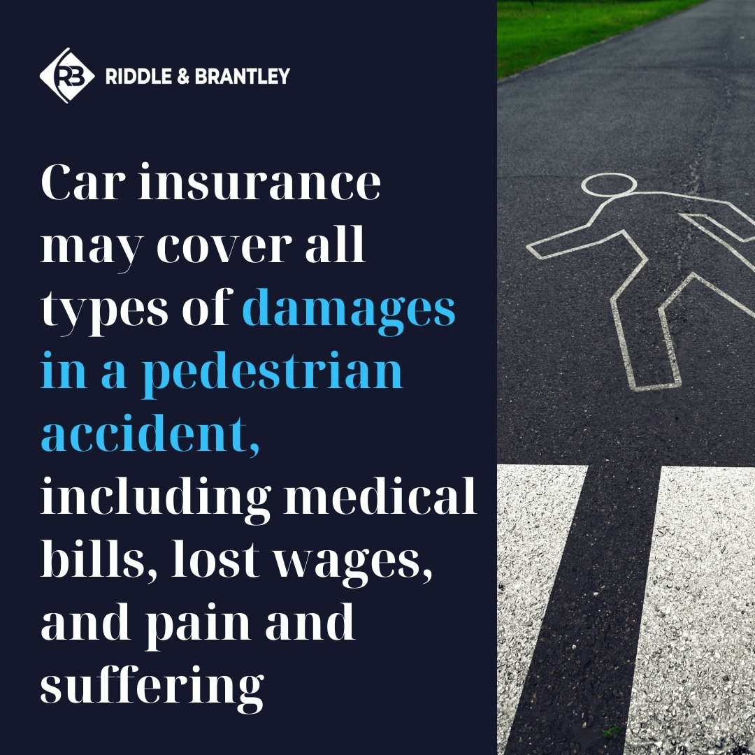 What Does Car Insurance Cover in a Pedestrian Accident Claim - Riddle & Brantley