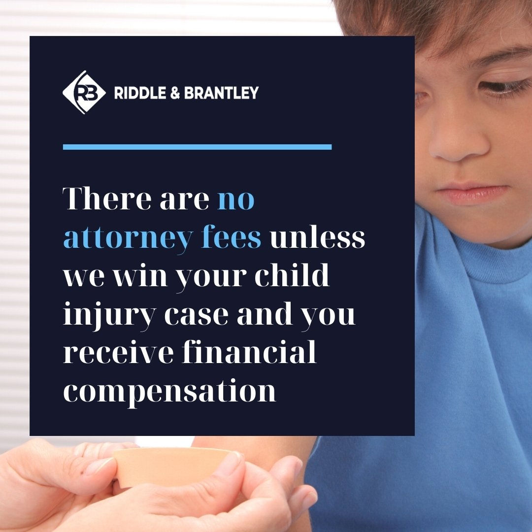 Affordable Child Injury Lawyer in North Carolina - Riddle & Brantley