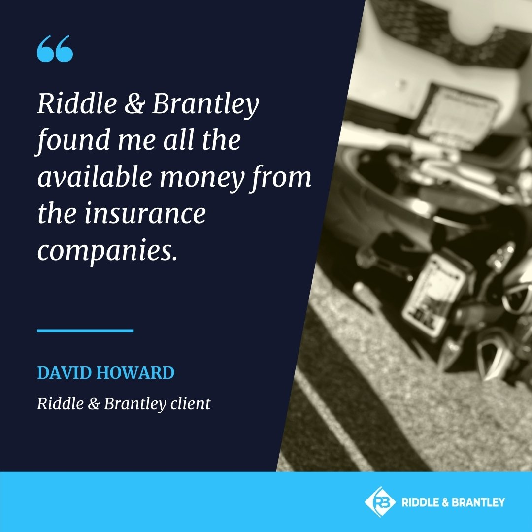 North Carolina Motorcycle Accident Lawyers - Riddle & Brantley