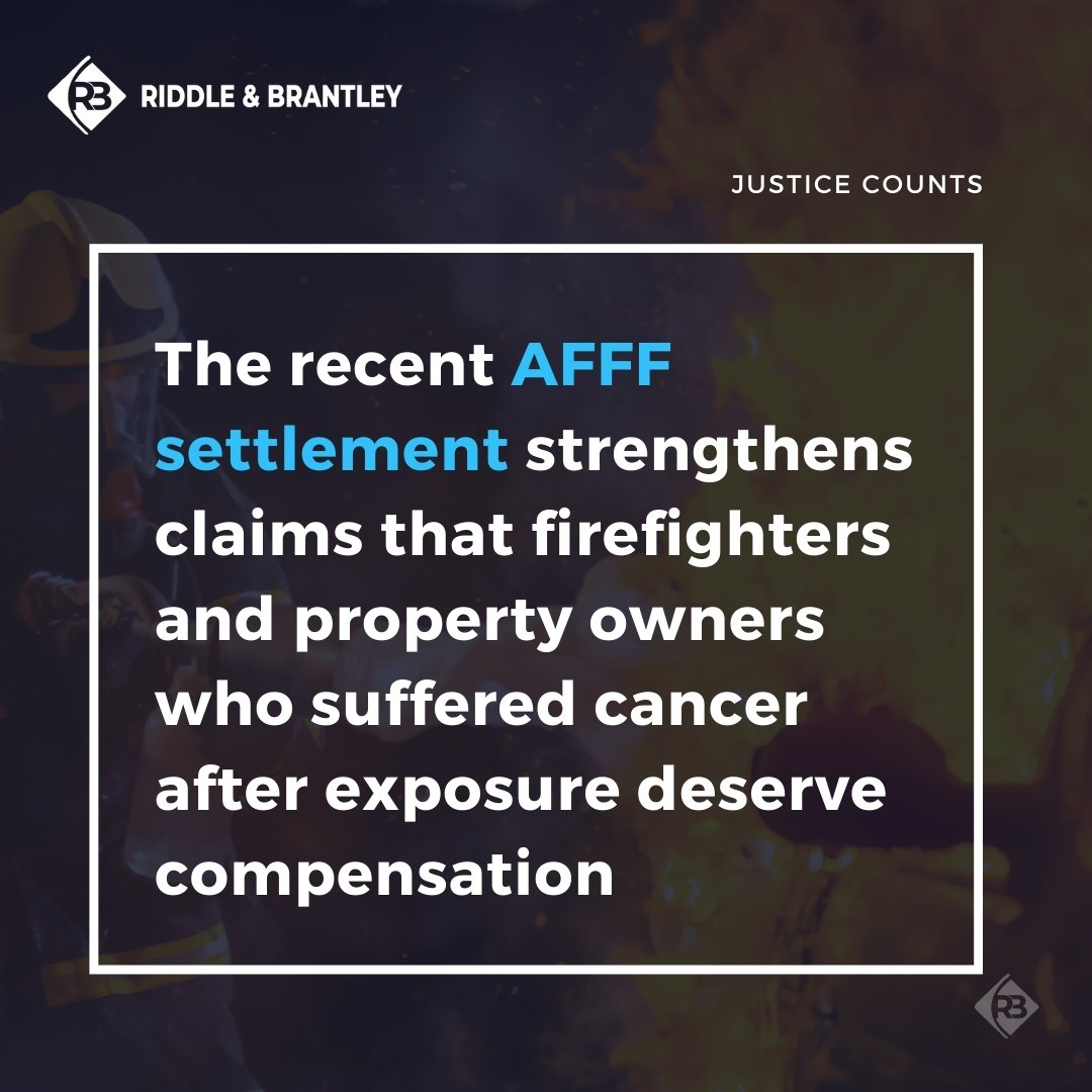 AFFF Lawsuit Settlement and Future Claims - Riddle & Brantley