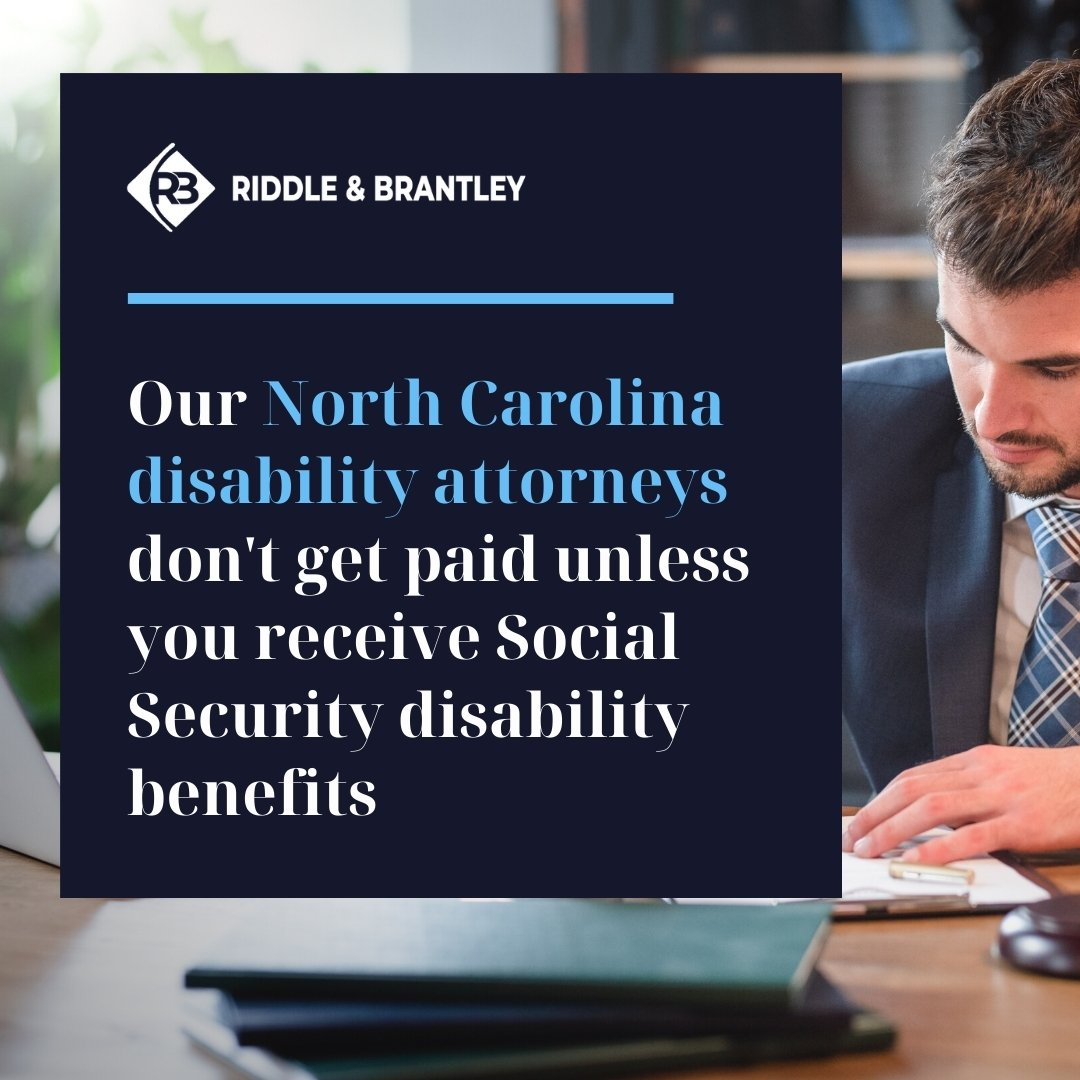 Affordable NC Disability Attorneys - Riddle & Brantley