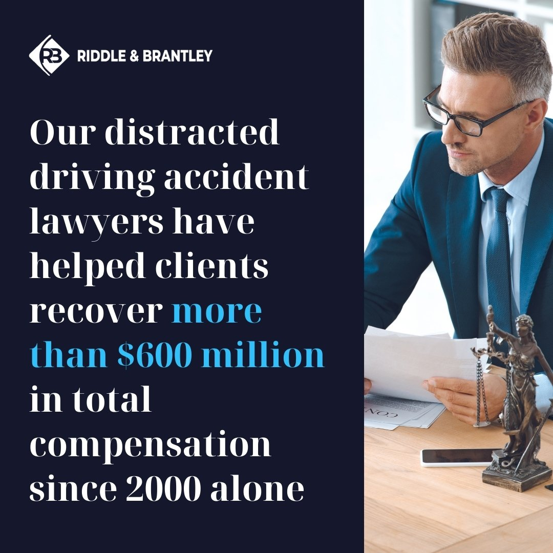 Distracted Driving Attorneys Serving North Carolina - Riddle & Brantley