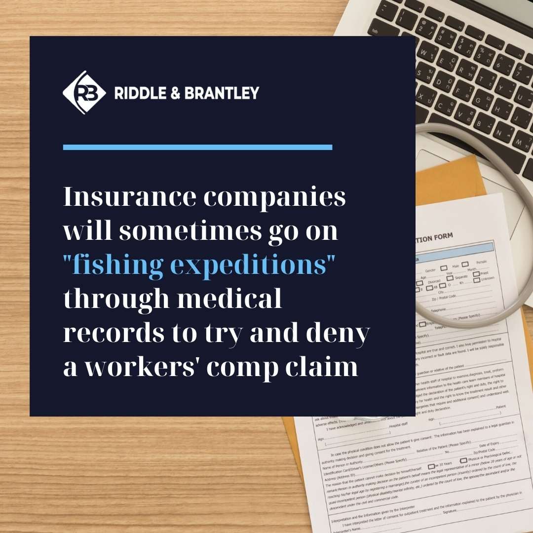 Insurance Companies and Medical Records in Workers Comp Cases - Riddle & Brantley