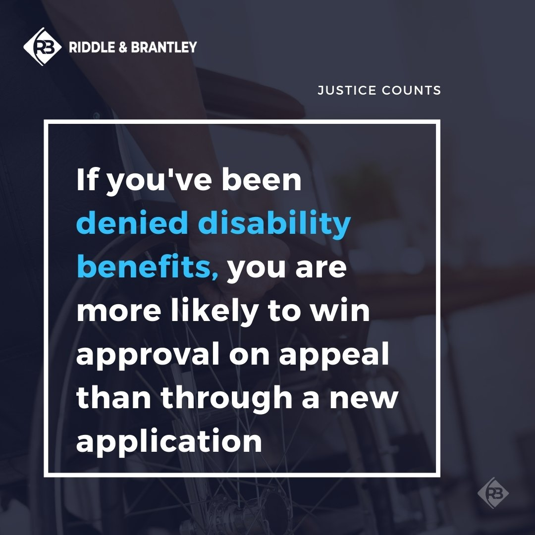 Should I Appeal a Disability Denial or File a New Application - Riddle & Brantley