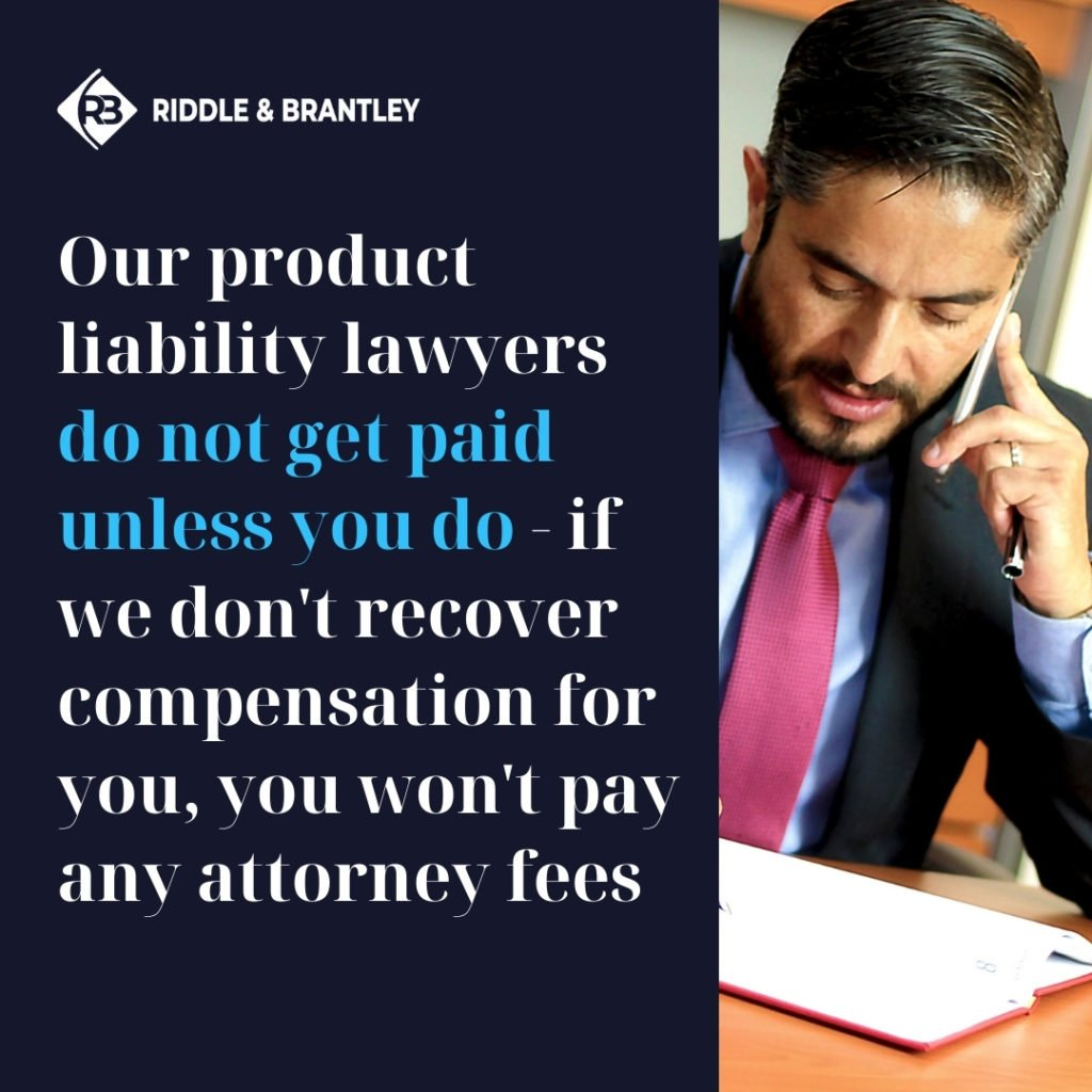 Affordable Defective Product Lawyer in North Carolina - Riddle & Brantley
