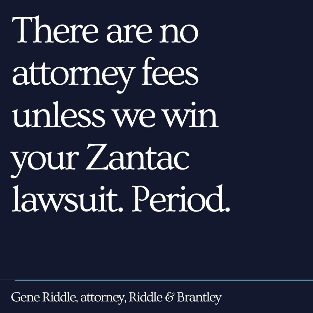 Affordable Zantac Lawyer - Riddle & Brantley