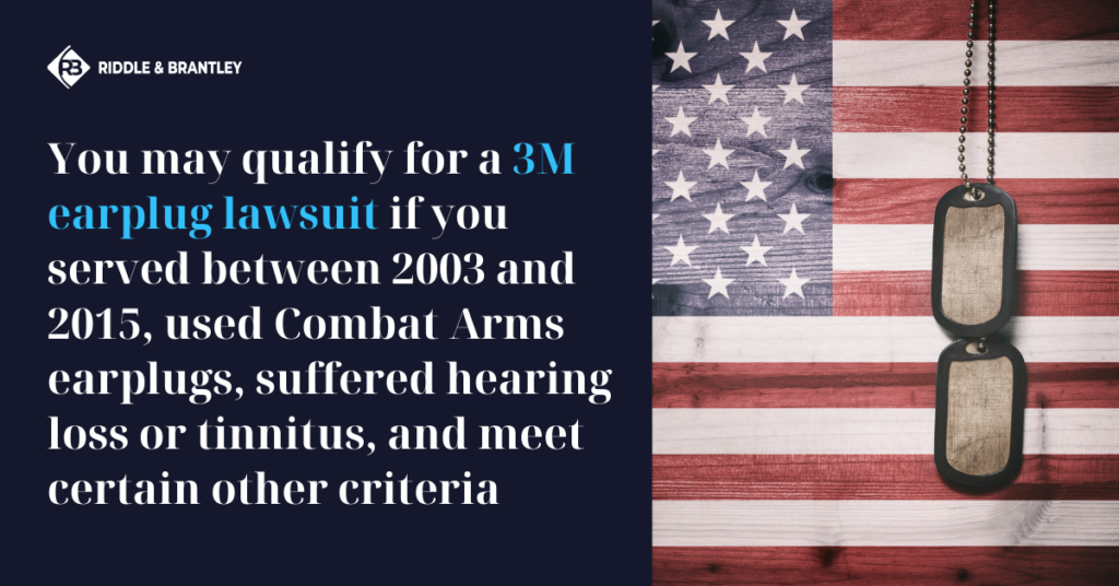 How to Join a 3M Earplug Lawsuit - Riddle & Brantley