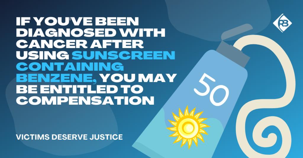 Benzene Sunscreen Lawsuit - Riddle & Brantley