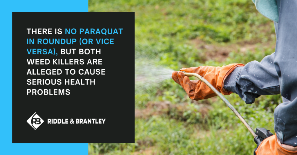 Is There Paraquat in Roundup