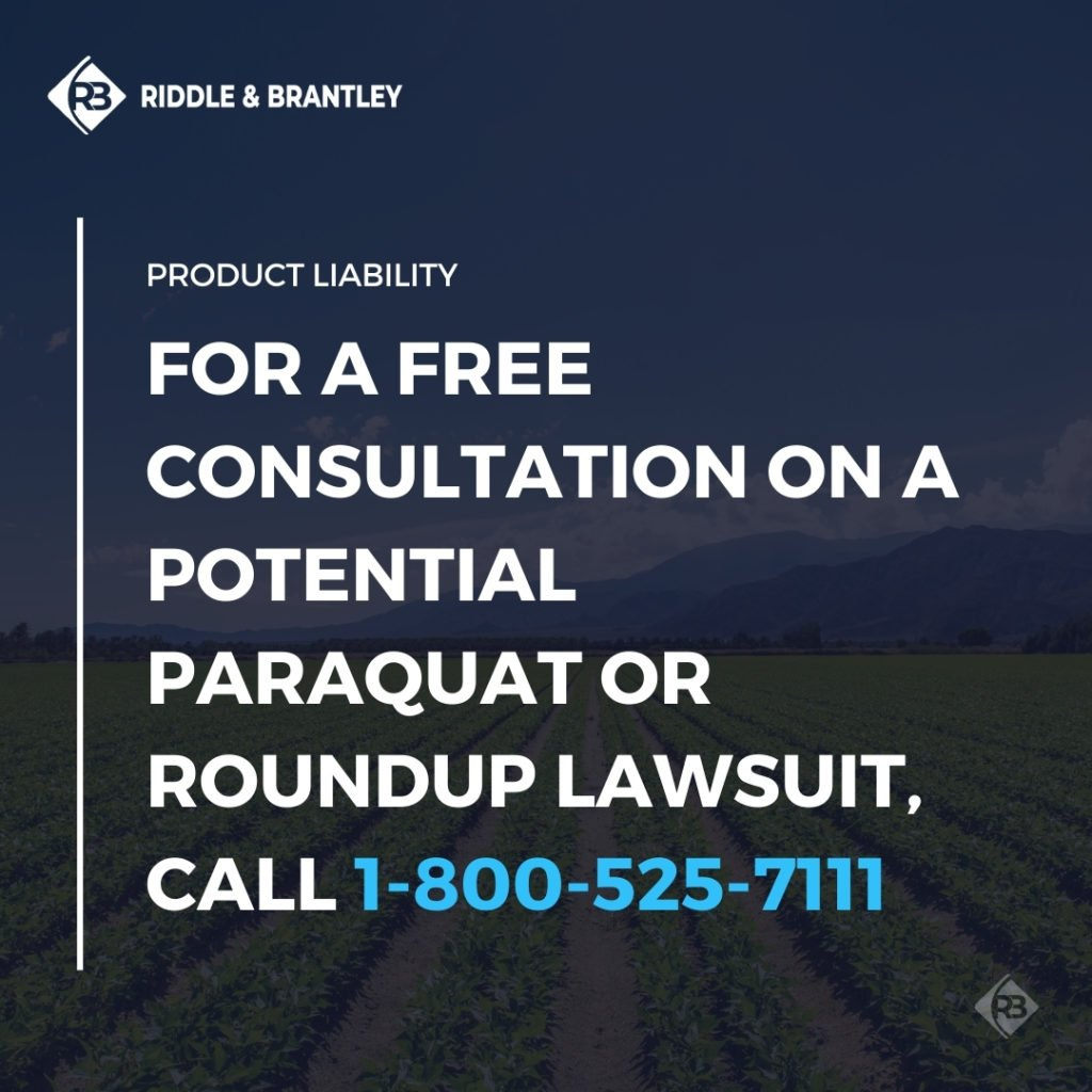 Paraquat Lawsuit Attorneys Also Handling Roundup Claims