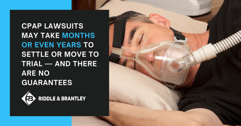 What Happens After Filing a CPAP Lawsuit